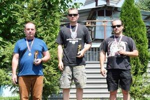 Najlepší traja zo súťaže mužov