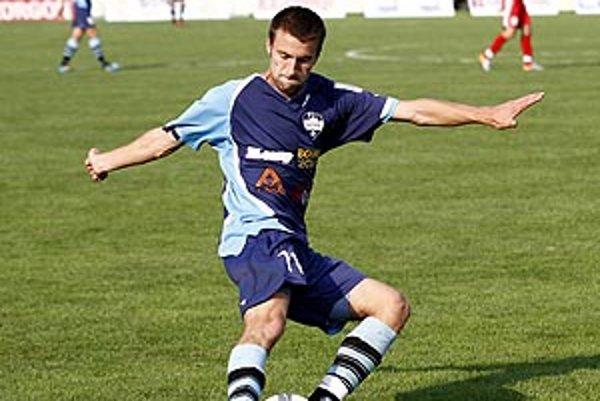 Druhý gól juniorov Nitry strelil Lukáš Zelenický.