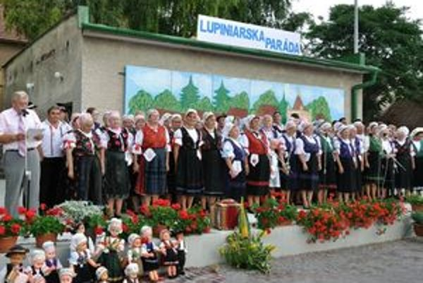 V Chyzerovciach zorganizovali Lupiniarsku parádu.