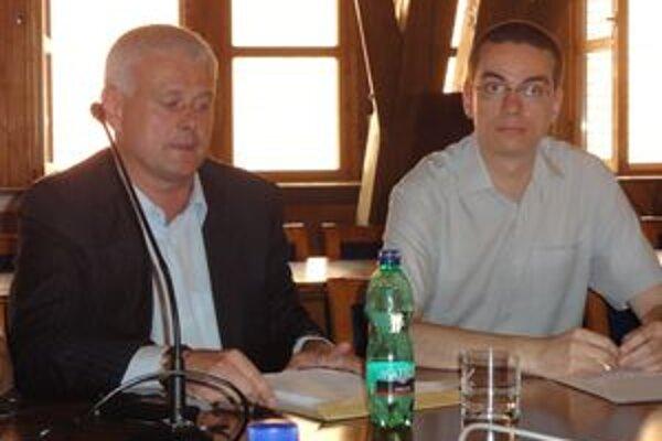 Zoltán Bugár (vpravo).