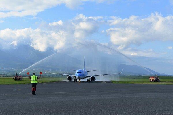 Letisko v Poprade.