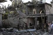 Bombový útok si vyžiadal najmenej osem obetí.