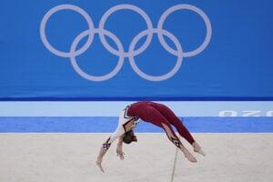 Nemecká gymnastka Sarah Vossová