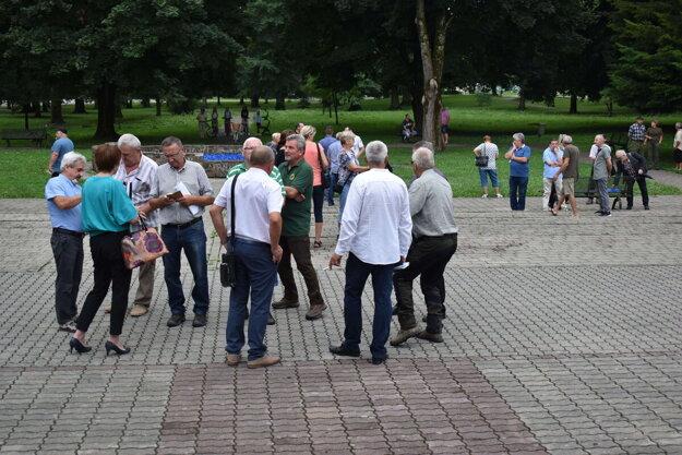 Stretnutie v Stakčíne. Prišli naň aj zástupcovia samospráv