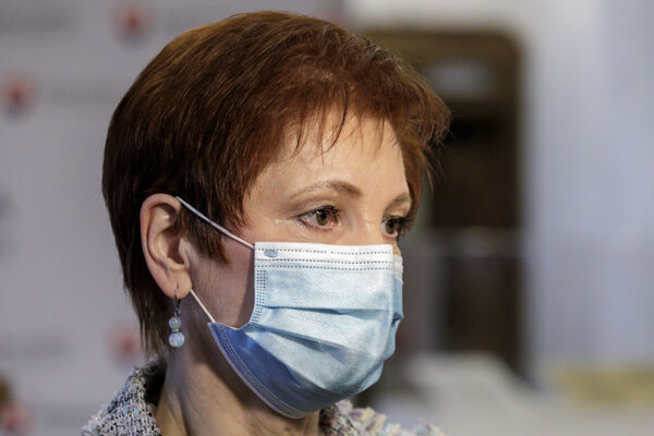 Jarmila Halgašová zo SaS.