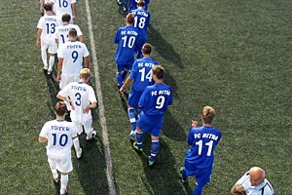 V dueli s MTK Budapešť mladí Nitrania dohnali manko 0:4 a dokázali remizovať 4:4.