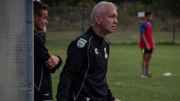 Emil Jacko ako tréner Lipian. V súčasnosti je prezident klubu.
