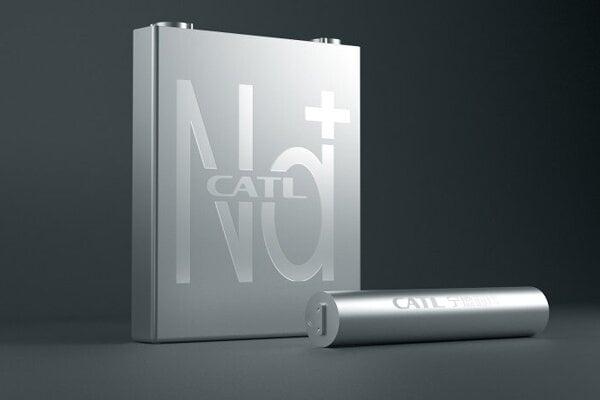 Sodíkovo-iónová batéria CATL.