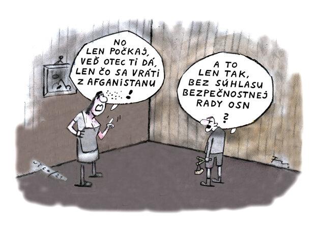 Karikatúra - 20.8.2021