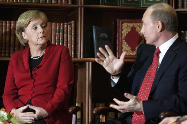 Merkelová sa s Putinom vie dohovoriť, kancelárka hovorí rusky plynulo