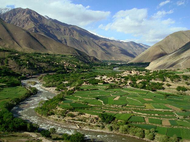 Nedobytné údolie Pandžšír severne od Kábulu.