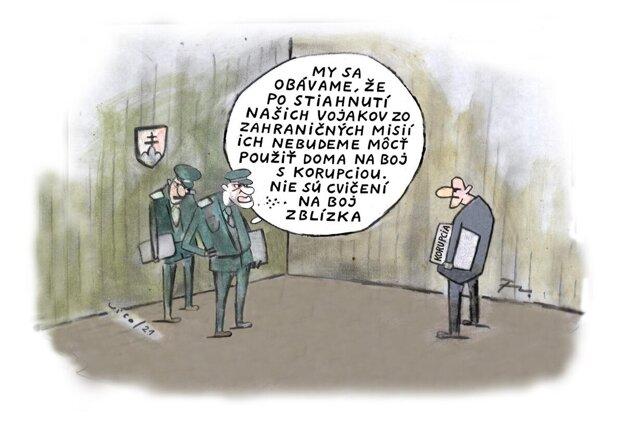 Karikatúra - 23.8.2021