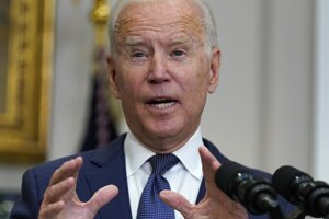 Prezident Joe Biden.
