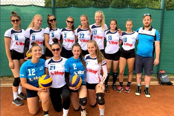 Juniorky Volley projectu UKF Nitra.