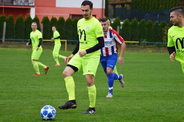 Martin Dudáš (vpredu) má po konci na Lapáši nový klub.