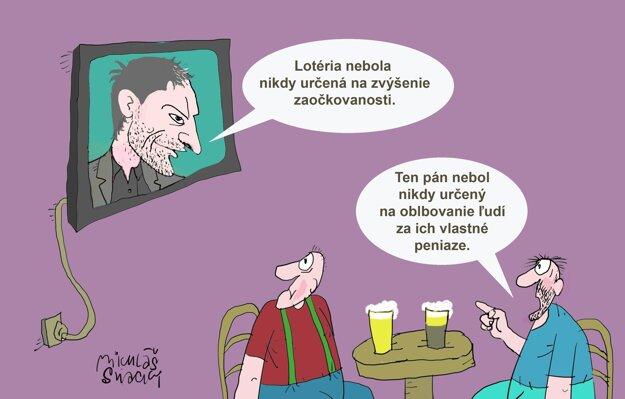 Karikatúra - 31.8.2021.