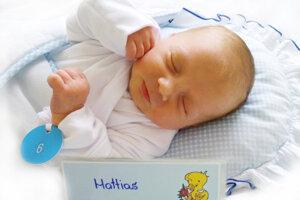 Mattias Schäffer z Handlovej sa narodil 24. 8. 2021 v Bojniciach