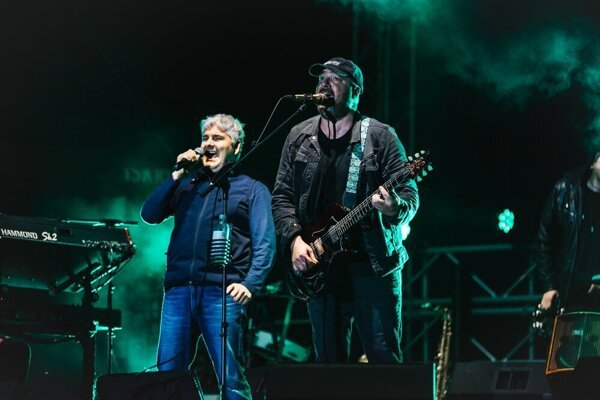 Paľo Čekan a Ivan Tásler po rokoch opäť spoločne na pódiu.