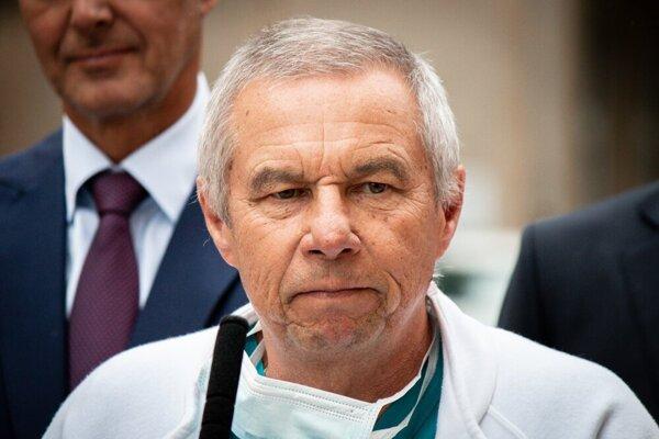 Ján Drobčo, primár chirurgie a námestník riaditeľky nemocnice v Liptovskom Mikuláši.