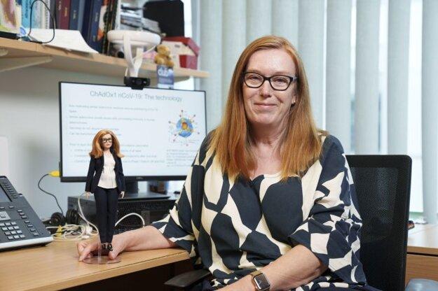 Britská vedkyňa Sarah Gilbertová, ktorá na Oxfordskej univerzite viedla vývoj vakcíny proti Covidu-19 (Oxford–AstraZeneca).