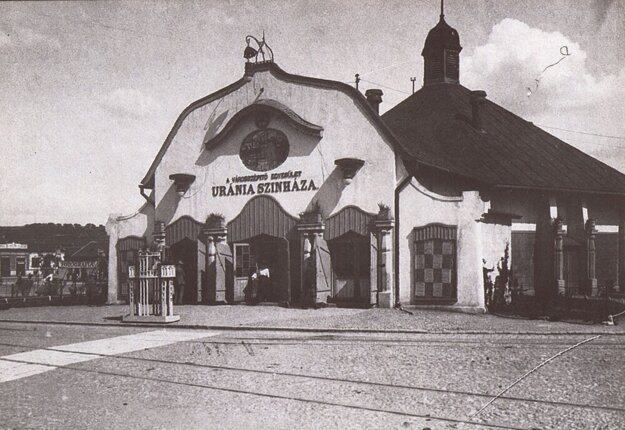 Prvé košické kino.