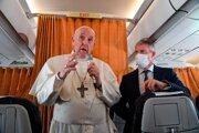 Pápež v septembri navštívil Slovensko.
