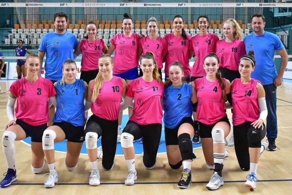 Volley project UKF Nitra obsadil doma druhé miesto.
