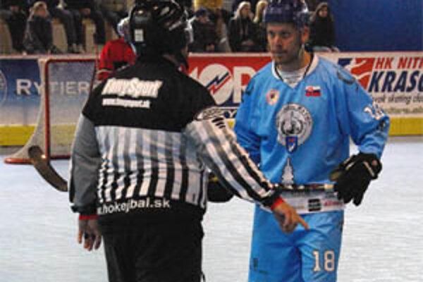 Branislav Thron pečatil víťazstvo dvoma gólmi v rýchlom slede.