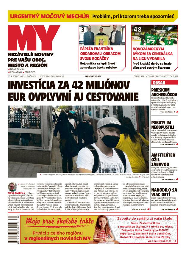Aktuálne vydanie MY Našich Novostí.