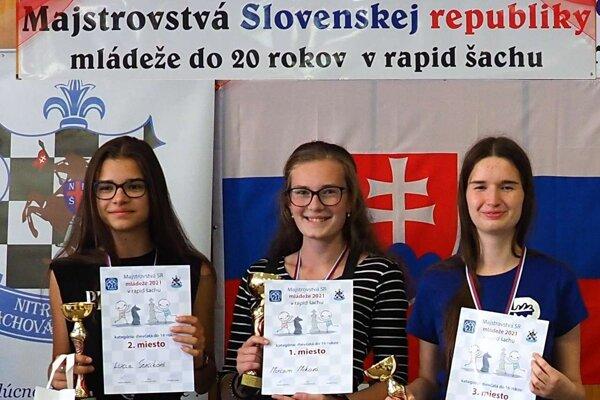 Majsterkou Slovenska v rapid šachu sa stala Miriam Miková