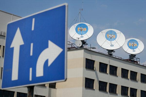 Sídlo najsledovanejšej poľskej spravodajskej televízie TVN24