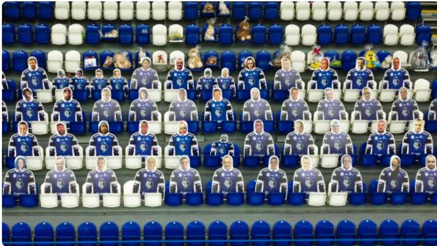 Makety z minulej sezóny na štadióne v Poprade nahradia skutoční diváci.