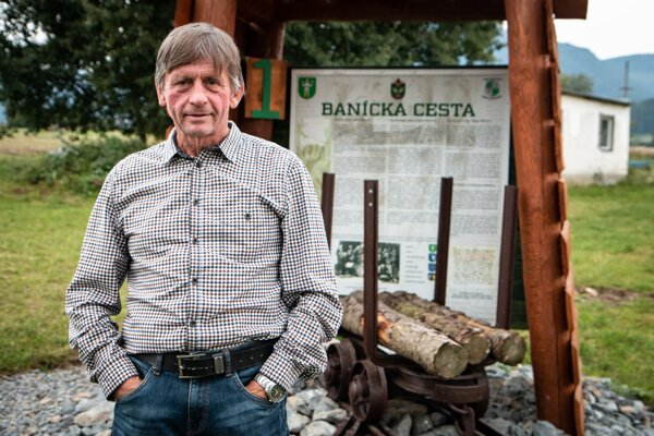 Vlastimil Lúčan hovorí, že Historickú banskú cestu postavili pre slávu generácií baníkov.
