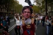 Ľudia v uliciach protestovali za prepustenie Puigdemonta.