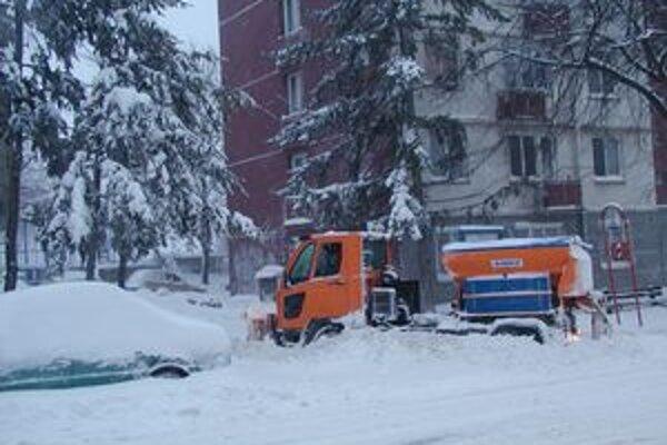 Vlaňajšia zima bola dlhá a priniesla množstvo snehu.