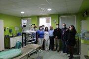 Workshopu sa zúčastnili odborníci na gastroenterológiu z hostiteľskej nemocnice v Lučenci a  tiež z nemocnice v Salgótarjáne.
