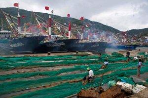 Čínsky rybolov sa dotýka celého Tichého oceánu.