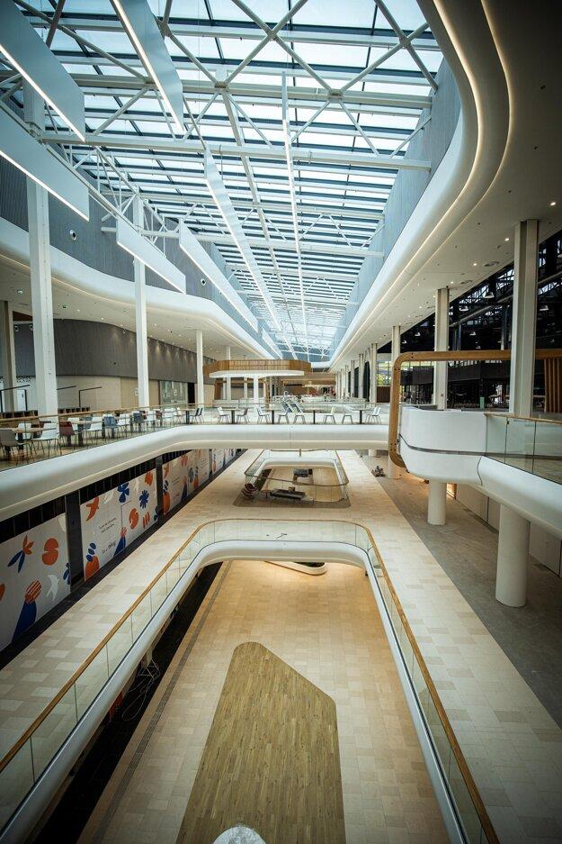 Nivy sa stanú najväčším nákupným centrom na Slovensku.