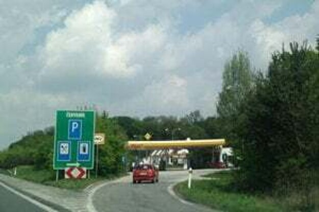 Čerpacia stanica Zeleneč na D1.