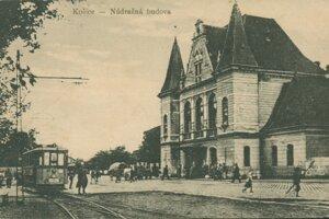 Takto kedysi vyzerala košická staničná budova.