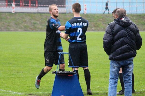 Marek Bobček (strieda) zariadil pre Dolný Kubín ďalšie tri body.
