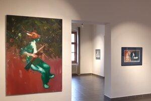 Ján Raška sa predstavuje v Oravskej galérii po prvýkrát.