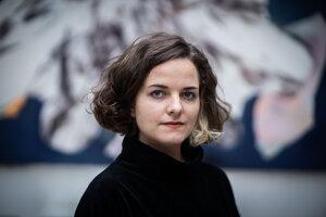 Výtvarníčka Rita Koszorús, ktorá zvťazila v súťaži Maľba 2021.