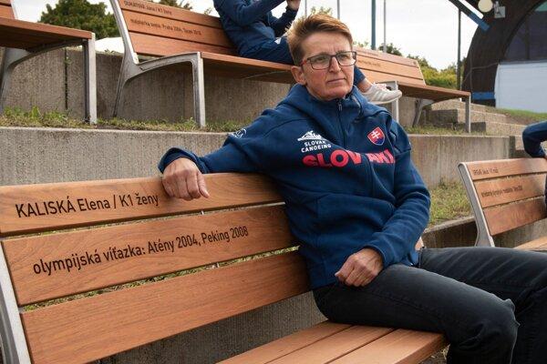 Dvojnásobná olympíjska víťazska, majsterka sveta i Európy vodná slalomárka, kajakárka Elena Kaliská.