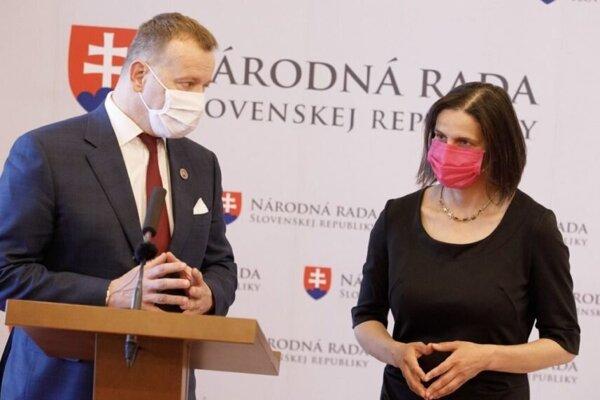 Boris Kollár a Mária Kolíková