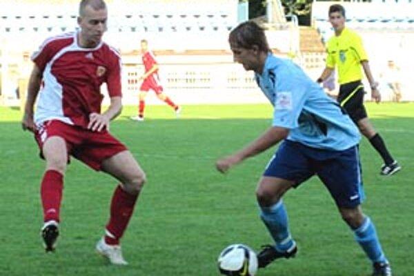 V Nitre otváral skóre z penalty Matúš Paukner.