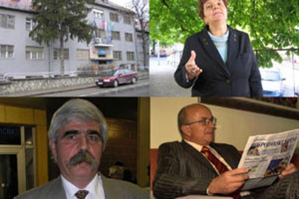 Pán Neznámy. To je človek, ktorý má v novembrových voľbách poraziť súčasnú primátorku Zlatých Moraviec Serafínu Ostrihoňovú.