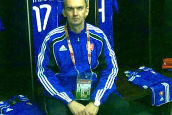 Marián Drinka bol pri úspechu reprezentácie Slovenska.