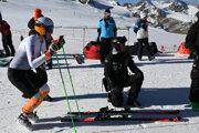 Petra Vlhová na poslednom tréningu pred obrovským slalomom v Söldene.