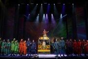 Divadlo Andreja Bagara v Nitre po mesačnom odklade úspešne uviedlo premiéru muzikálu Jozef a jeho zázračný farebný plášť.